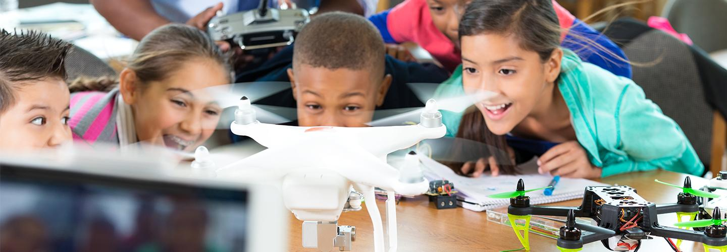 Learn how to build Drone in K-12 Classroom with Drone in Schools program 9