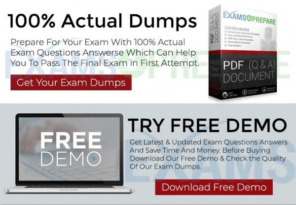 Oracle 1Z0-1072 Dumps Released By ExamsPrepare – Pass With 100% Real 1Z0-1072 Exam Questions 6