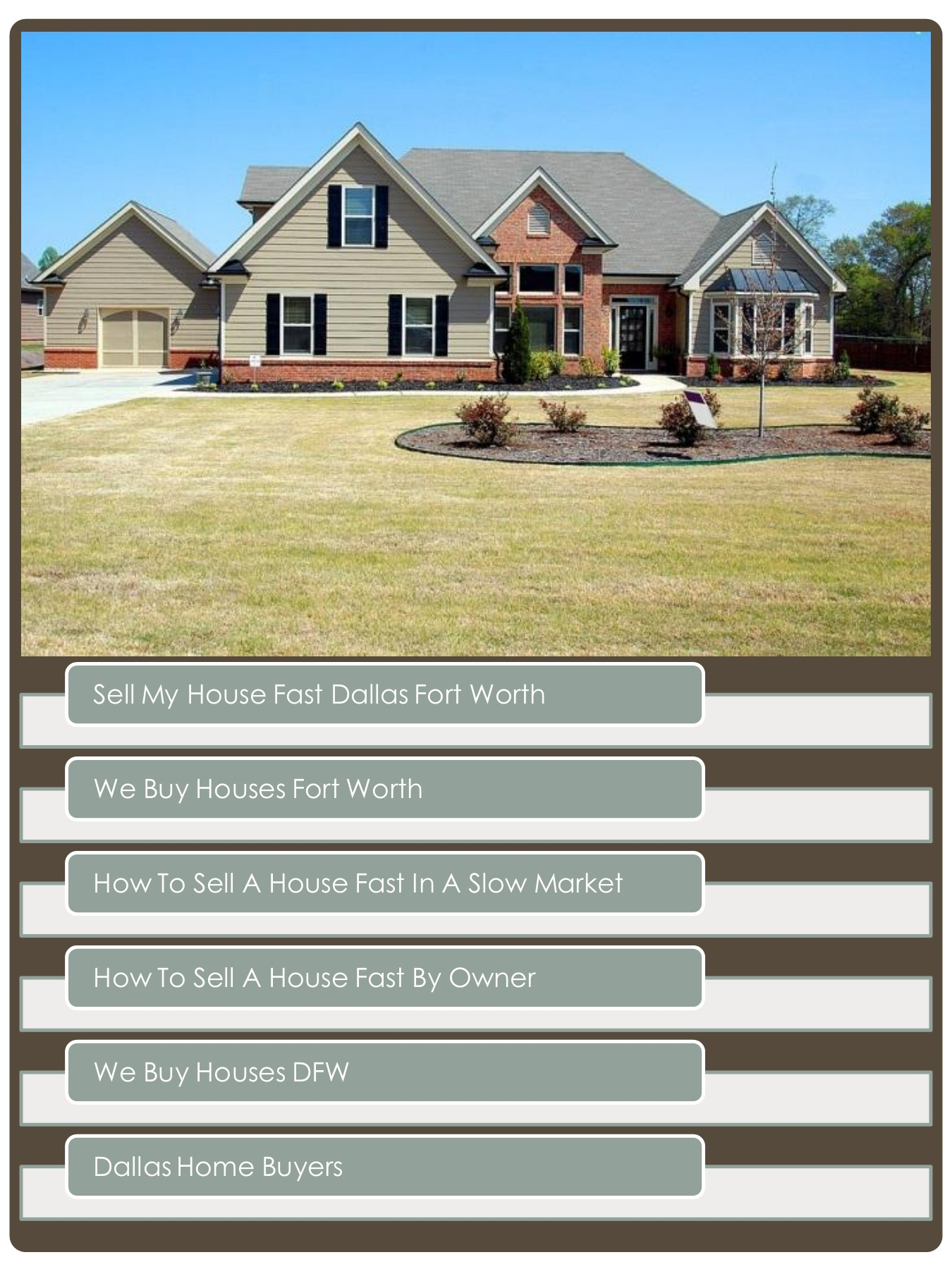 Quickly Sell a Home As Is In The Dallas/ Forth Worth Area 1