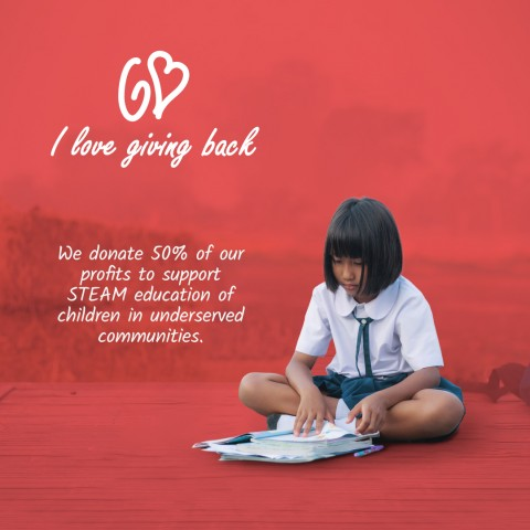I Love Giving Back aims to help Impoverished Children and their Families with Job and Education by Donating Profits 9