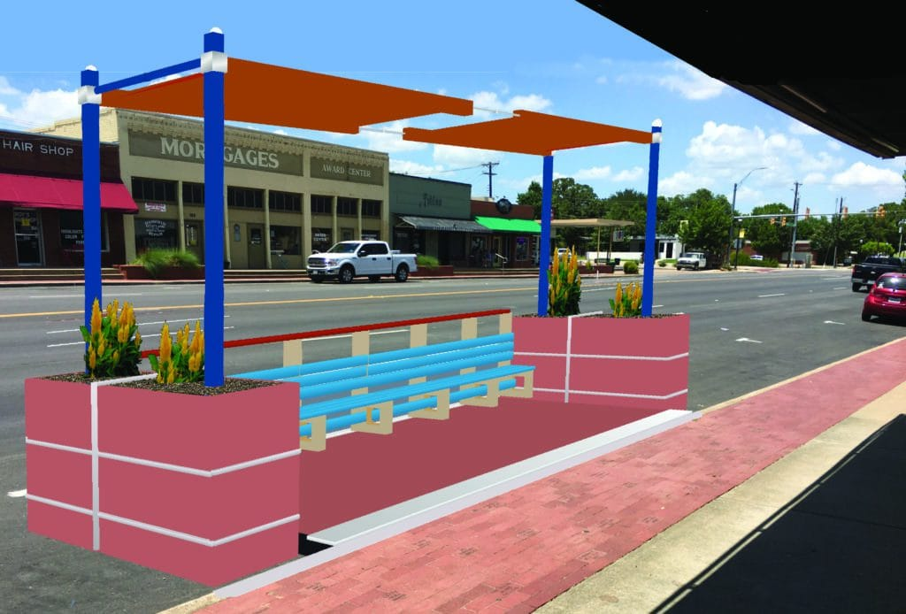 Downtown Mansfield Parklet Pilot Program Is A Go 6