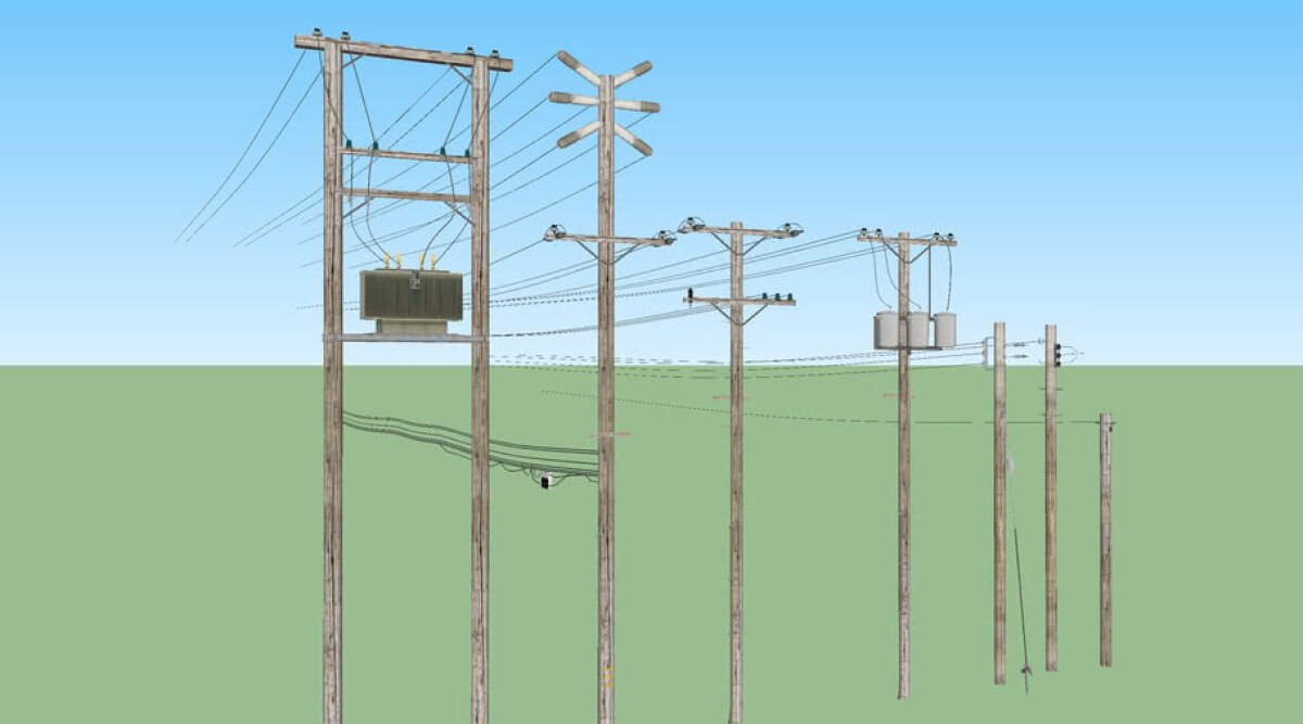 The utility pole market is expected to reach $53.3 billion by 2025 1
