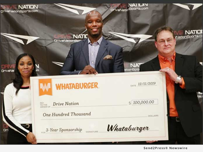 Whataburger Announces $100,000 Partnership with Drive Nation Sports to Increase Access to Youth Sports 6