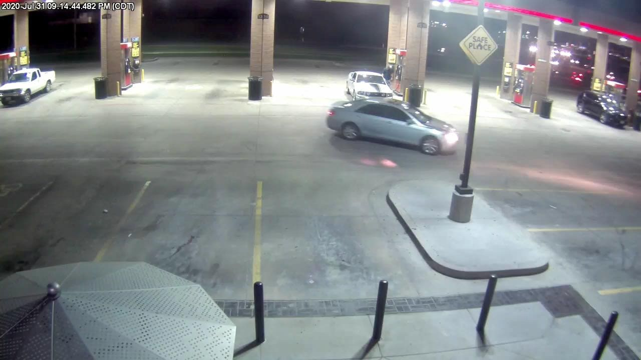 blue camry QT camera footage