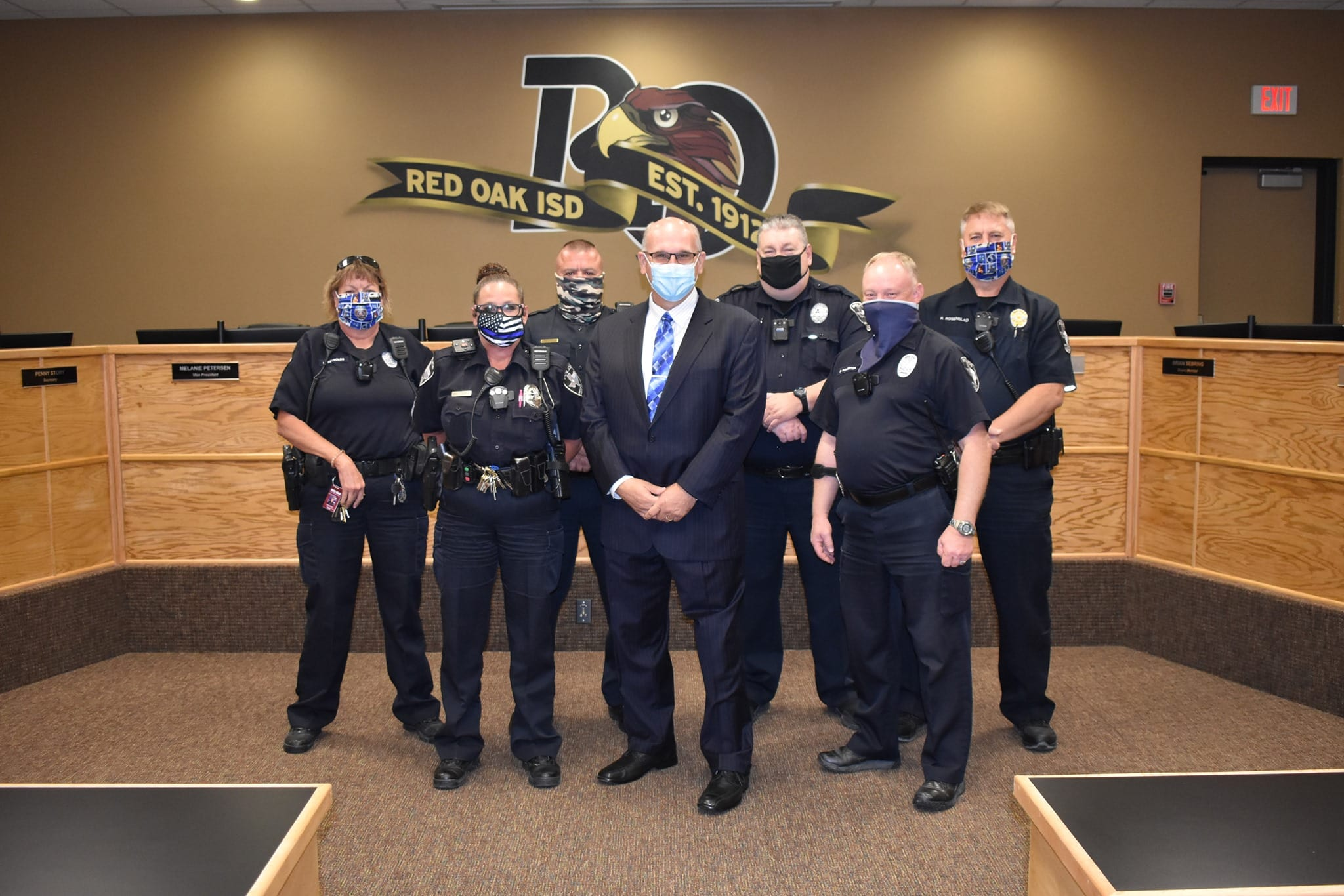 Red Oak ISD Police Officers