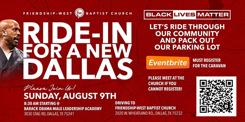 Black Lives Matter Ride In For Justice Tomorrow 1