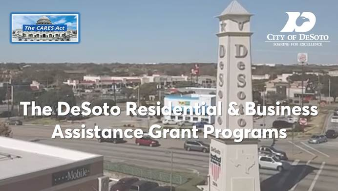DeSoto Rolls Out $2.25 Million In COVID-19 Assistance Programs 6