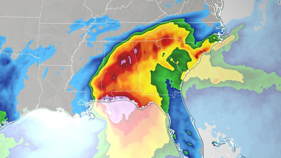 LIVE updates: Hurricane Sally's 2 biggest threats are inland flooding and storm surge 6
