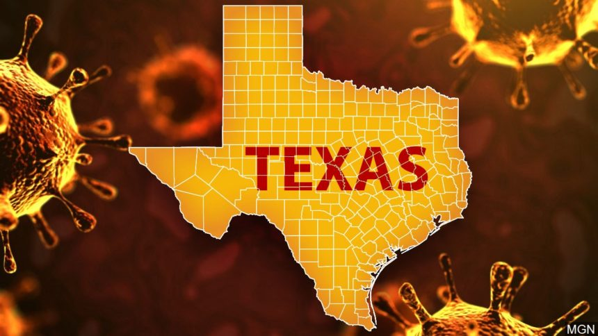 2,262 new virus cases in Texas as state nears 800,000 6