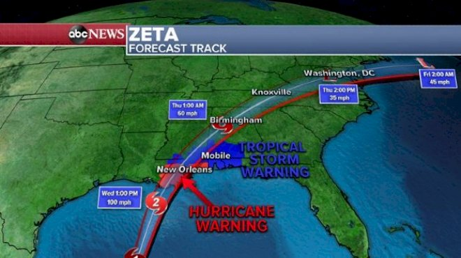 LIVE updates: Hurricane Zeta roars toward Gulf Coast with life-threatening storm surge 6