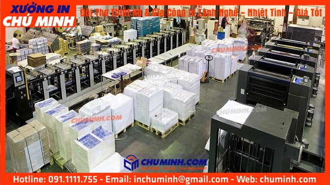 Chu Minh Printing Factory – Vietnam best printing labels & product packaging manufacturer in HCMC 10