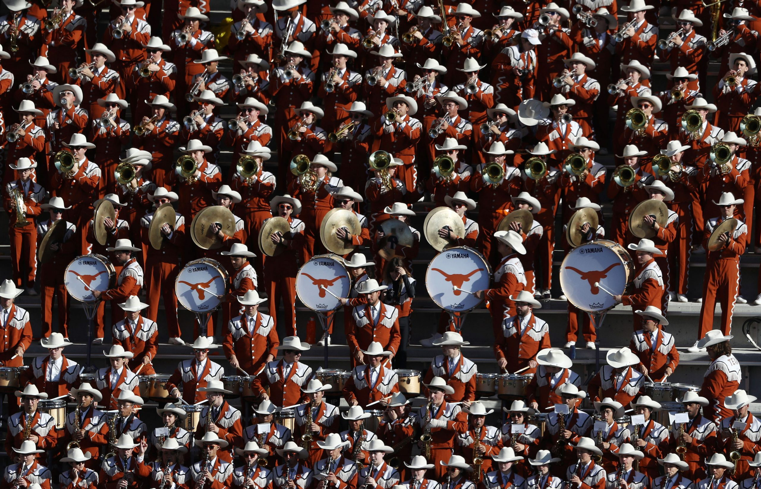 University of Texas band won't play its alma mater because it was once performed at minstrel shows 6