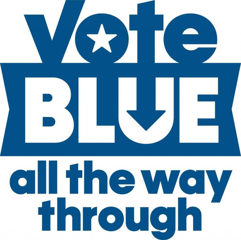 Vote Blue All the Way 6