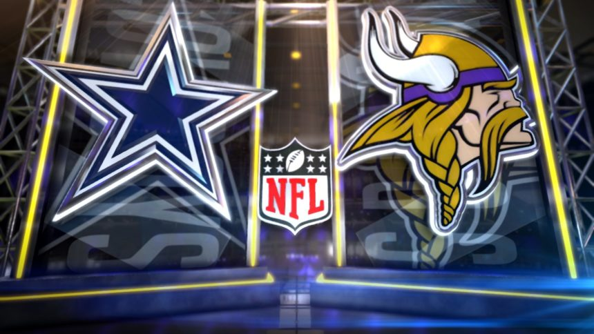 Cowboys top Vikings 31-28 for 3rd win, NFC East 2nd place tie 6