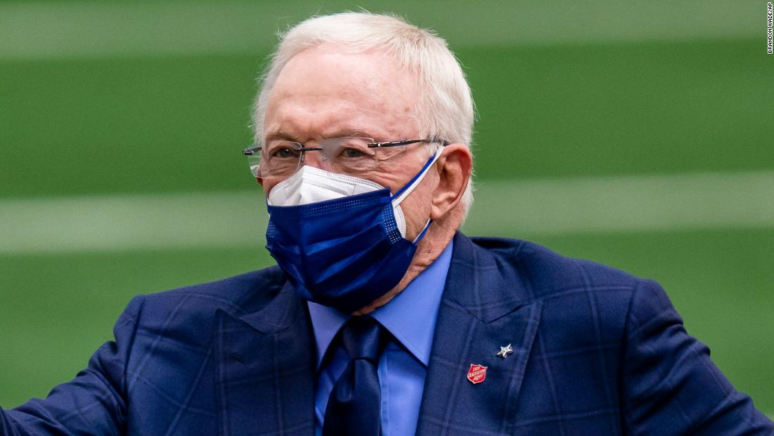 Dallas Cowboys owner Jerry Jones plans for more fans in stands despite surging Covid-19 cases 6