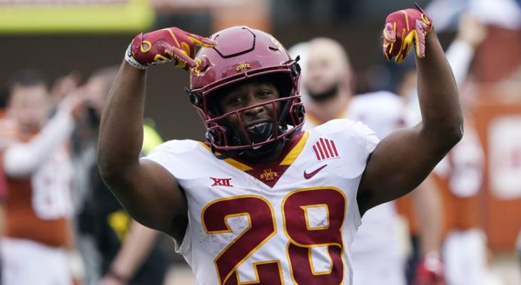 Late TD lifts No. 15 Iowa State over No. 20 Texas 6