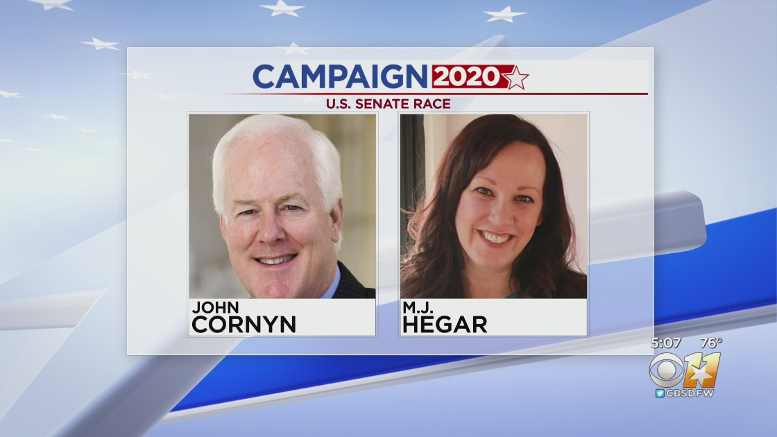 The Latest: Hegar concedes in Texas Senate race 6
