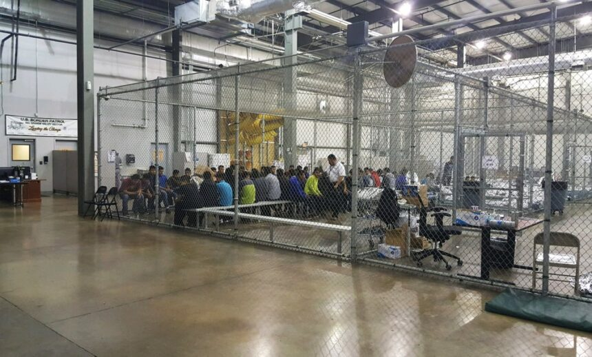 U.S. closes Texas warehouse where chain-link 'cages' for migrant children garnered attention 6