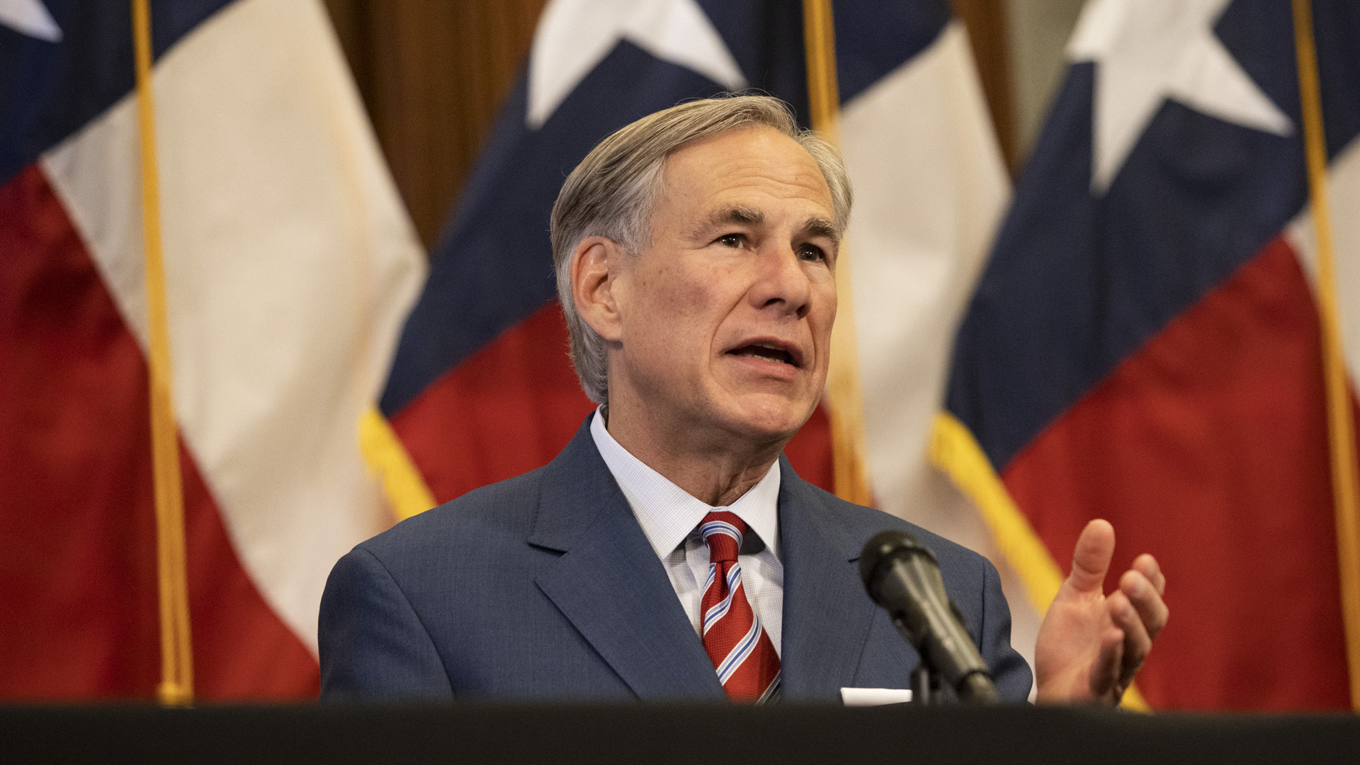 Watch LIVE: Texas Gov. Abbott discusses distribution of 1st antibody to help fight Covid-19 6