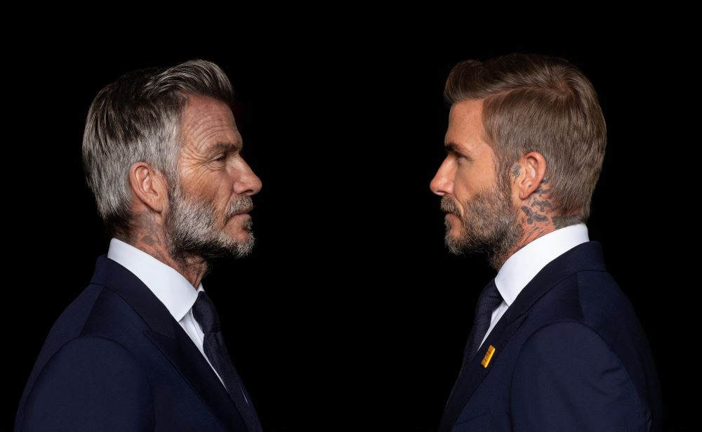 """Digital Domain Adds Decades to David Beckham for New """"Malaria Must Die"""" Campaign 4"""