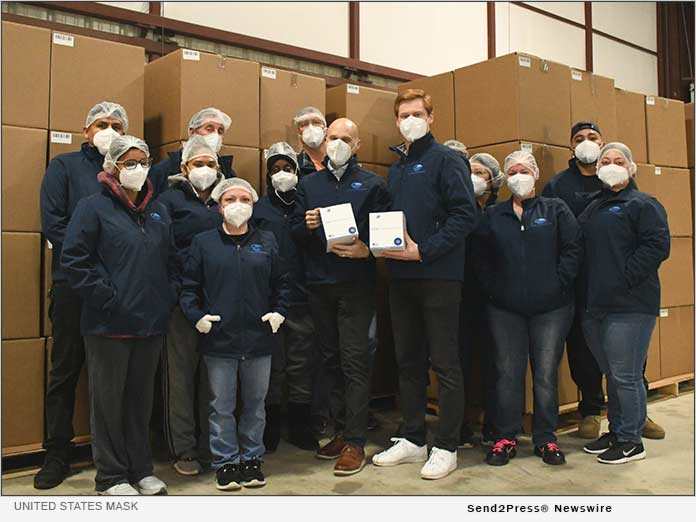 Fort Worth Company Donates 'Made in America' N95 Masks to Salvation Army 6