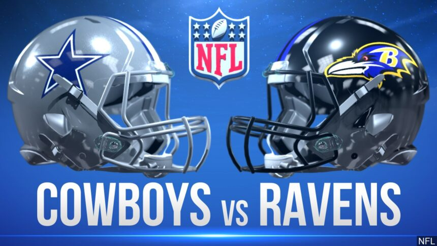 Ravens run past Cowboys, plagued by missed field goals, 34-17 6