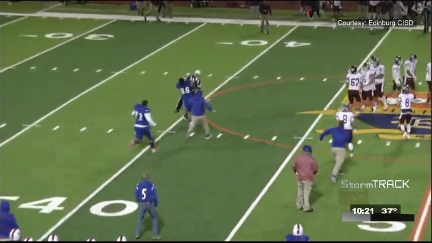 Texas high school athlete facing assault charge in ref attack is now suspended by UIL 6