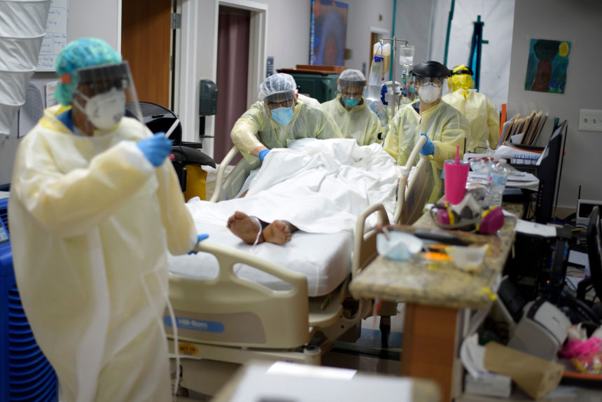 1 in 5 hospital beds in Texas now occupied by virus patients; ICUs exhausted as cases soar 6