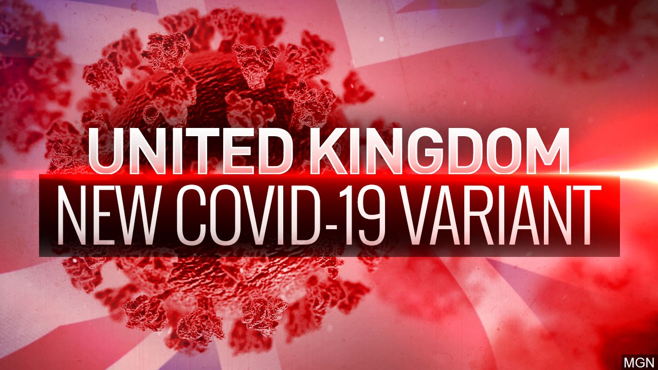 2nd case of UK's highly-contagious virus variant found in New Mexico; 3rd case appears in Texas 1