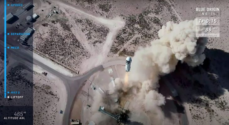 Blue Origin launches capsule to space from Van Horn with astronaut perks 8