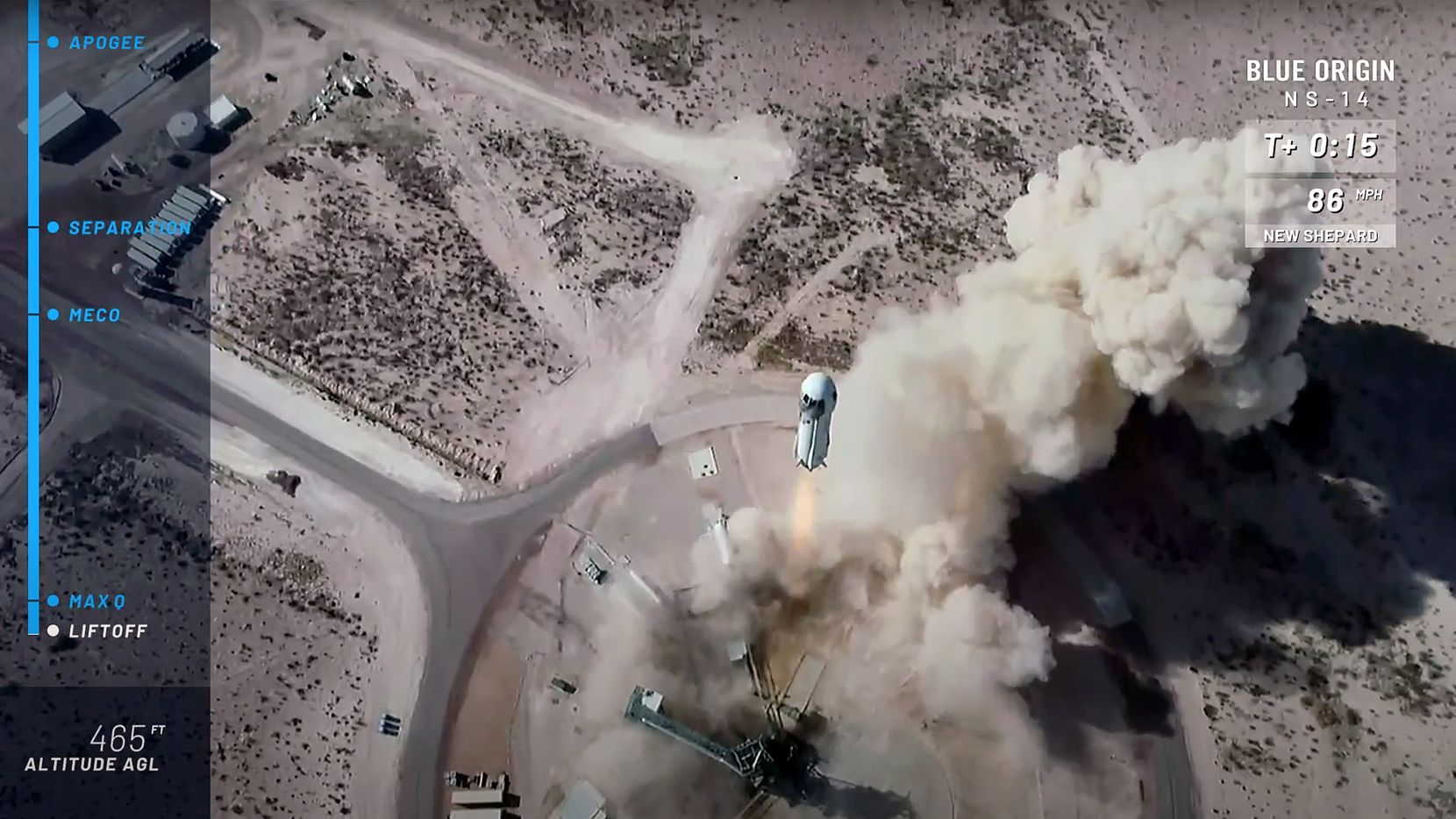 Blue Origin launches capsule to space from Van Horn with astronaut perks 1