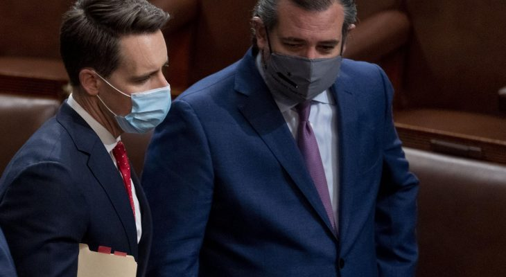 Ethics complaint filed in U.S. Senate against Texas' Ted Cruz over Capitol riot 9