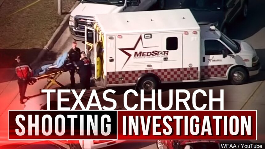 Texas church shooting leaves 1 dead and others injured, governor says 6