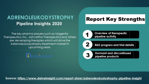 Adrenoleukodystrophy Competitive Landscape Report 2020: Emerging Therapies and Key Pharma Players Involved 4