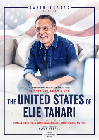 Feature Documentary about Fashion Designer ELIE TAHARI to be released March 2021, directed and produced by David Serero 5