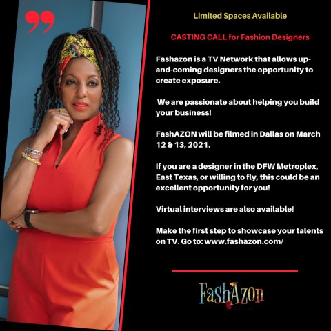 FashAZON, Launching on Award-Winning ZondraTV Network, Announces Open Casting Call for Fashion Designers and Fashion Artisans to Appear on the Show 6