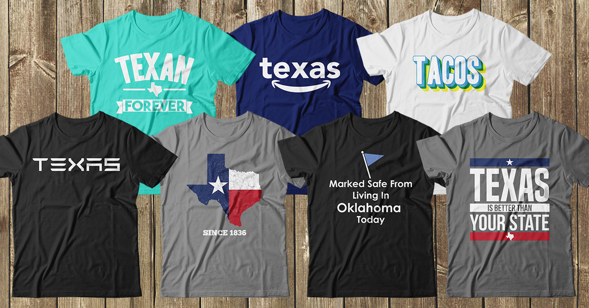 Texas T-Shirt Designer Donating Sales to Local Food Banks 2