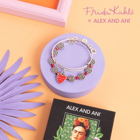 OEG Latino, Frida Kahlo and ALEX AND ANI celebrate International Women's Month with limited edition collection. 6