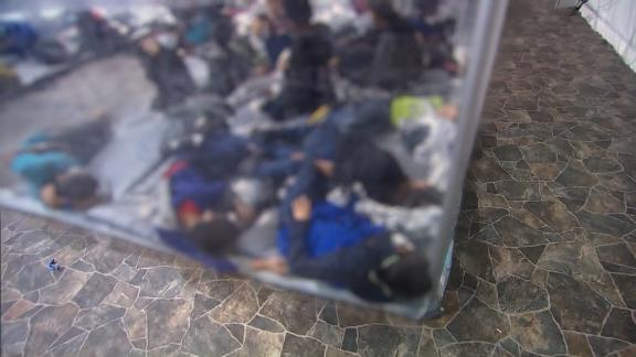 Children sleeping on mats in overcrowded plastic pods: Inside a Texas facility on the U.S.-Mexico border 6