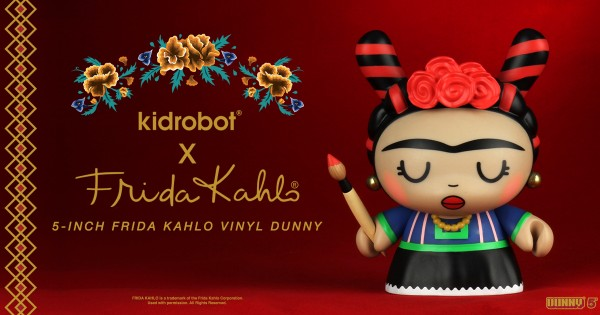 OEG Latino, the Frida Kahlo Corporation and KIDROBOT partner to launch new exclusive Frida Kahlo vinyl figures 6