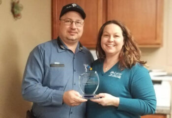 McCaw PM Vendor of The Year Award Given to Keller Services 12