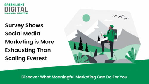 Survey Shows Social Media Marketing is More Exhausting Than Scaling Everest 6