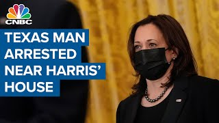 Texas man with rifle arrested near VP Harris' official residence 6