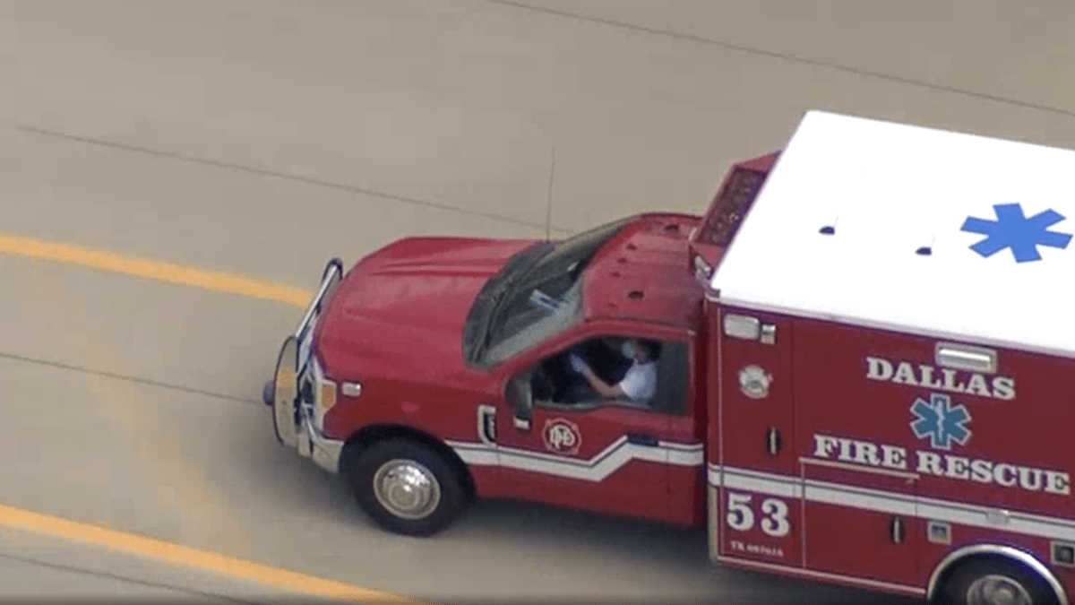 2-hour police chase of stolen Dallas ambulance finally ends in arrest 6