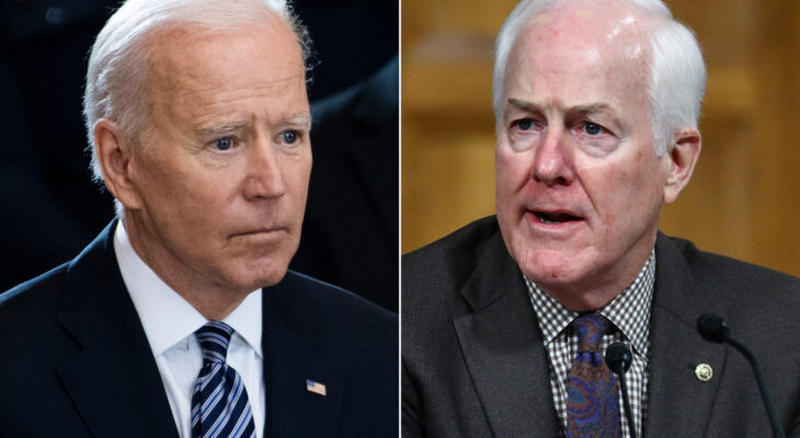 Analysis: Cornyn critical of Biden's media doctrine that less is more 6