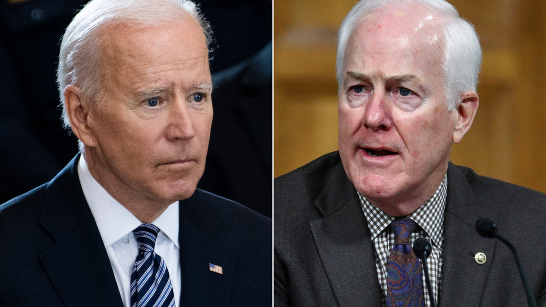 Analysis: Cornyn critical of Biden's media doctrine that less is more 1