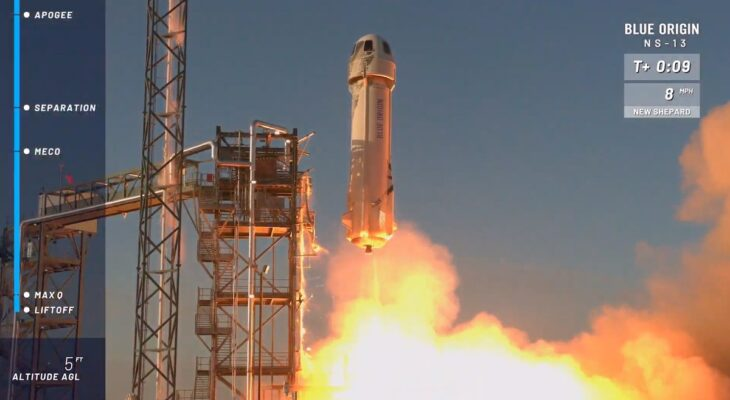 Blue Origin launches another Van Horn rocket to the edge of space 13