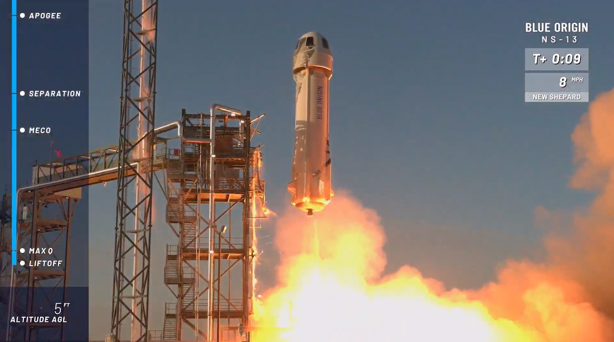 Blue Origin launches another Van Horn rocket to the edge of space 6