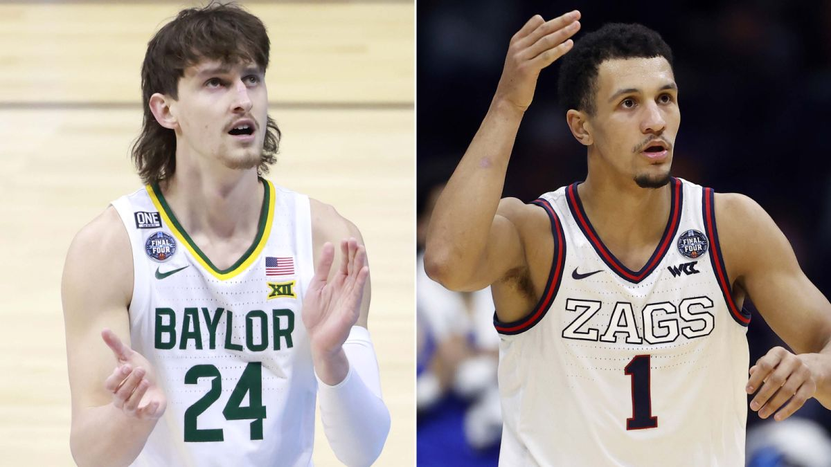 Gonzaga faces Baylor in NCAA men's basketball title game with a perfect season on the line 6