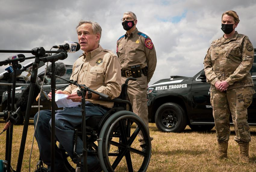 Gov. Abbott wants feds to pay for 'border crisis' expenses in Texas 6
